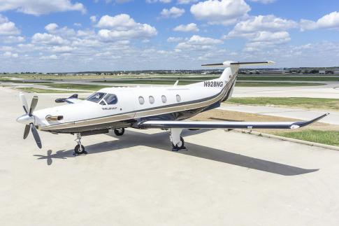 Off Market Aircraft in Texas: 2008 Pilatus PC-12 NG - 1