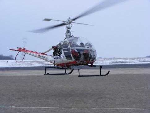 Off Market Aircraft in Germany: 1976 Hiller UH-12ET - 1