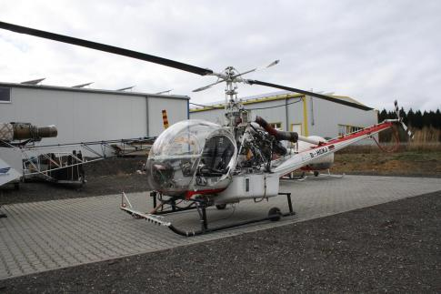 Off Market Aircraft in Germany: 1976 Hiller UH-12ET - 3