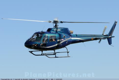 Off Market Aircraft in Germany: 1980 Eurocopter AS 350BA - 1
