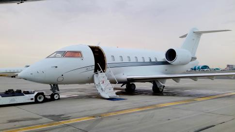 Off Market Aircraft in United Arab Emirates: 2008 Bombardier Challenger 605 - 1