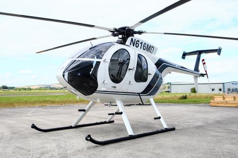 Off Market Aircraft in UK: 2013 McDonnell Douglas MD-500E - 2