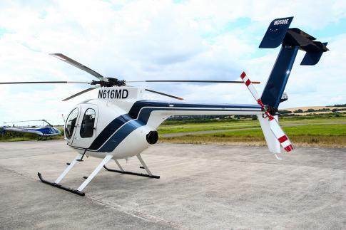 Off Market Aircraft in UK: 2013 McDonnell Douglas MD-500E - 3
