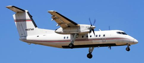 Off Market Aircraft in Montana: 1991 de Havilland DHC-8-103 - 1