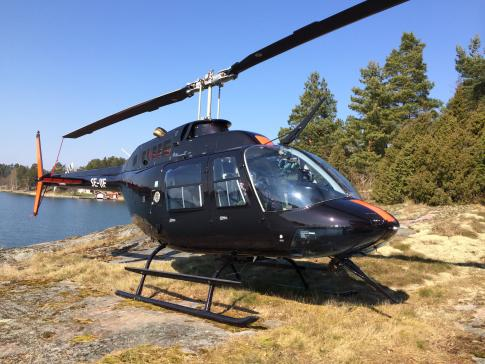 Off Market Aircraft in Sweden: 1992 Bell 206B3 - 1