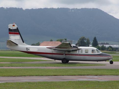 Off Market Aircraft in Germany: 1966 Aero Commander 680FL - 1