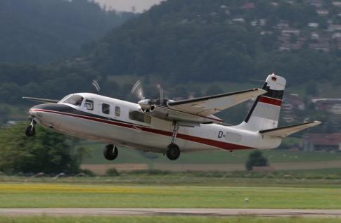 Off Market Aircraft in Germany: 1966 Aero Commander 680FL - 3