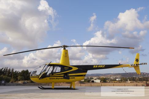 Off Market Aircraft in Paphos: 1994 Robinson R-44 - 1