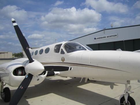 Off Market Aircraft in Texas: 1974 Cessna 421B - 1