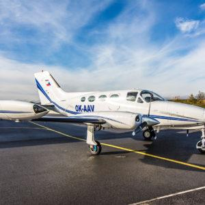 Off Market Aircraft in Czech Republic: 1969 Cessna 414 - 1