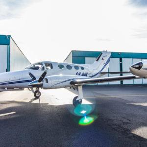 Off Market Aircraft in Czech Republic: 1969 Cessna 414 - 2