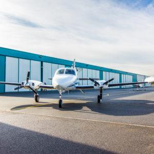 Off Market Aircraft in Czech Republic: 1969 Cessna 414 - 3