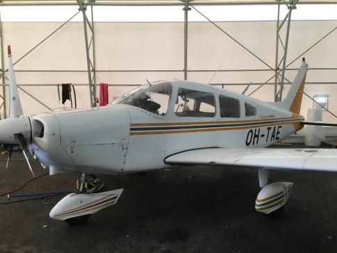 Off Market Aircraft in Finland: 1975 Piper Warrior - 2