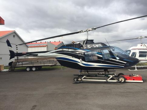 Off Market Aircraft in Quebec: 1974 Bell 206 - 1