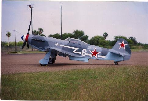 Aircraft for Sale in Harlingen, Texas, United States (T-65): 1944 Yakovlev YAK-3