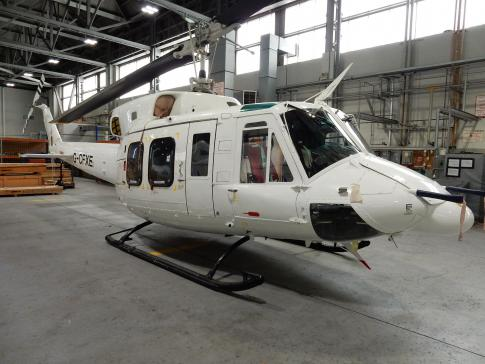 Off Market Aircraft in UK: 1979 Bell 212 - 1