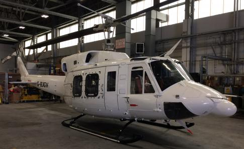 Off Market Aircraft in UK: 1980 Bell 212 - 1