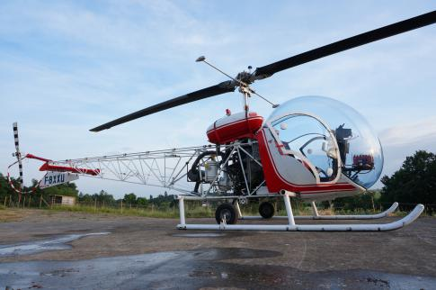 Off Market Aircraft in Brissac: 1956 Bell 47G-2A1 - 3