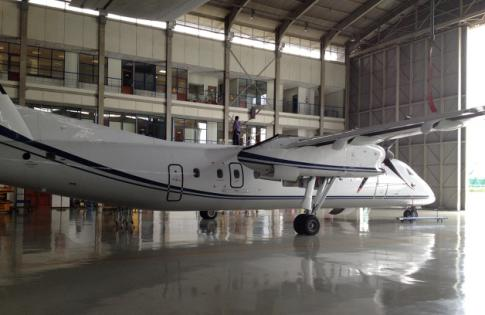 Off Market Aircraft in Indonesia: 2002 de Havilland DHC-8-315 - 3