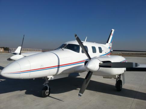 Off Market Aircraft in Greece: 1974 Piper PA-31P-425 - 2