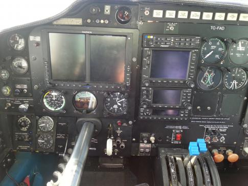 Off Market Aircraft in Greece: 1974 Piper PA-31P-425 - 3