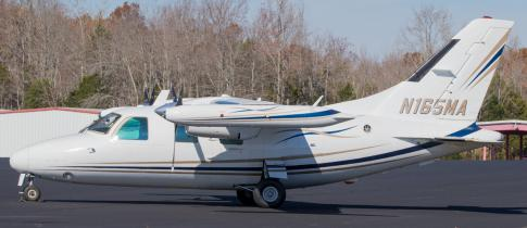Off Market Aircraft in Tennessee: 1975 Mitsubishi MU-2M - 1
