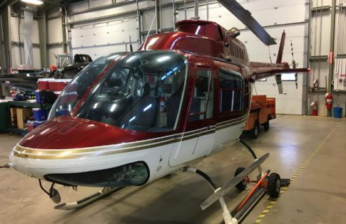 Off Market Aircraft in Canada: 1973 Bell 206B - 1