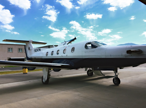 Off Market Aircraft in Utah: 2001 Pilatus PC-12/45 - 1