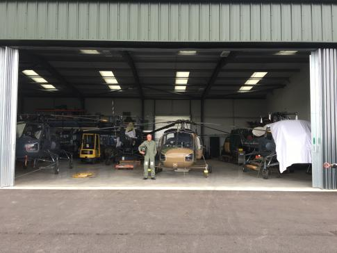 Aircraft for Sale in Hampshire: 1973 Westland Ltd. Wasp - 1