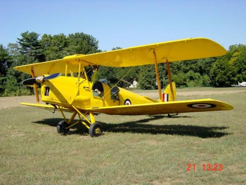 Aircraft for Sale in New Jersey: 1939 de Havilland Tiger Moth - 1