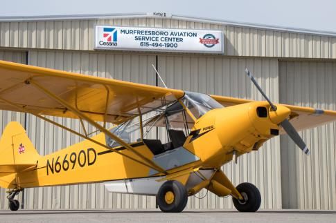 Aircraft for Sale in Murfreesboro, Tennessee, United States (KMBT): 1954 Piper PA-18-150 Super Cub