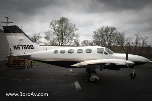 Aircraft for Sale in Murfreesboro, Tennessee, United States (KMBT): 1980 Cessna 414A Chancellor