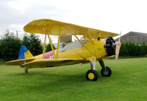 Aircraft for Sale in North West, United Kingdom: 1945 Stearman PT-17/B75-N1