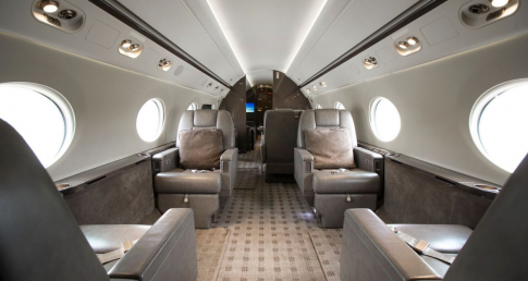 Off Market Aircraft in Canada: 2014 Gulfstream G550 - 2