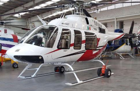 Off Market Aircraft in Mexico: 2009 Bell 407 - 1
