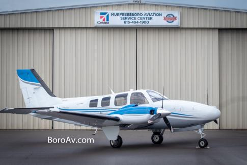 Aircraft for Sale in Murfreesboro, Tennessee, United States (KMBT): 2016 Beech G58 Baron