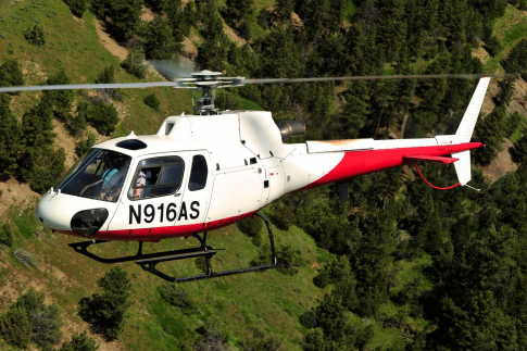 Off Market Aircraft in Montana: 2001 Eurocopter AS 350B3 - 1