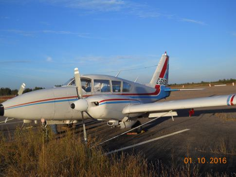 Off Market Aircraft in Ontario: 1969 Piper Aztec D - 2