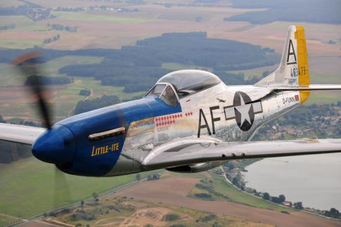 Aircraft for Sale in Germany: 1944 North American TF-51D Mustang