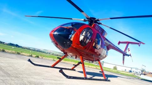 Off Market Aircraft in West Sussex: 1991 MD Helicopters 500E - 2
