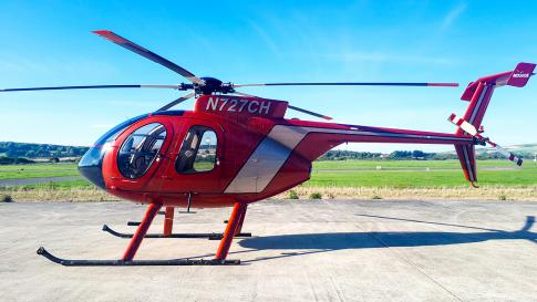Off Market Aircraft in West Sussex: 1991 MD Helicopters 500E - 3