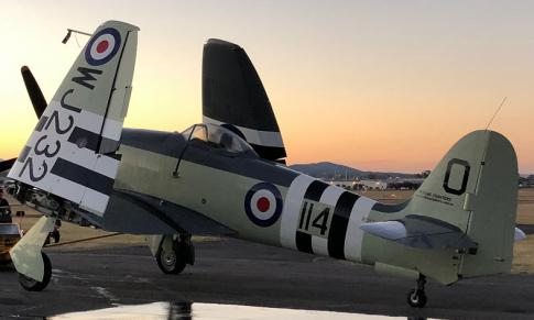 Aircraft for Auction in QLD, Australia: 1953 Hawker Siddeley Sea Fury MK.11