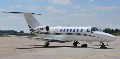 Off Market Aircraft in Sweden: 2006 Cessna Citation CJ3 - 1