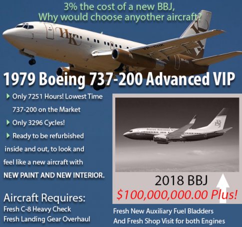 Aircraft for Sale in Arizona, United States: 1979 Boeing 737-200