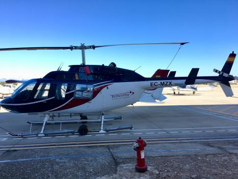 Off Market Aircraft in Madrid: 1989 Bell 206L3 - 1