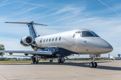 Off Market Aircraft in Texas: 2015 Embraer Legacy 500 - 1