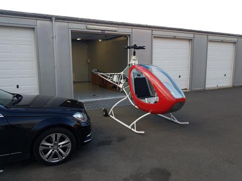 Off Market Aircraft in Iceland: 2004 Eagle R&D Helicycle - 1
