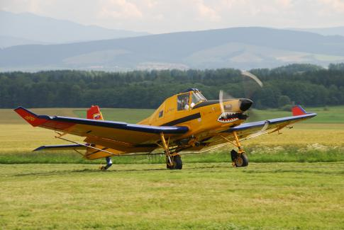 Off Market Aircraft in Slovakia: 1990 Zlin Aerospace Z-137T - 1