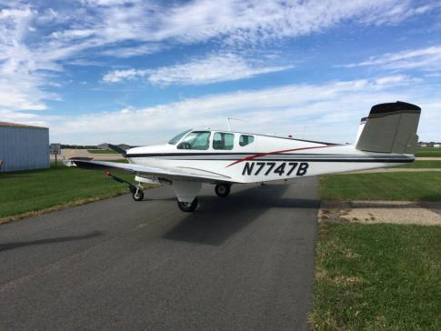 Aircraft for Sale in MINNEAPOLIS, Minnesota, United States (KFCM): 1960 Beech V35 Bonanza