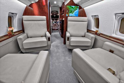 Off Market Aircraft in Nigeria: 1998 Bombardier Challenger 604 - 2